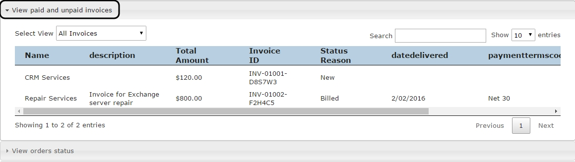 Portal-Invoices