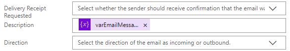 Power Automate - Create Email Message Description