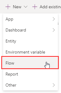 Power Automate - Create flow within solution