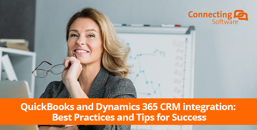 QuickBooks and Dynamics365 CRM integrations