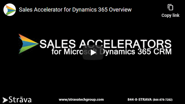 Sales Process for Microsoft Dynamics 365 CRM