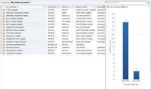 Microsoft Dynamics CRM Chart