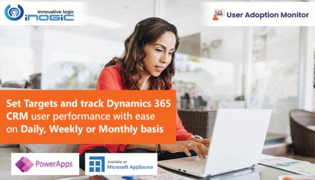 Set Targets and Track Dynamics 365 CRM