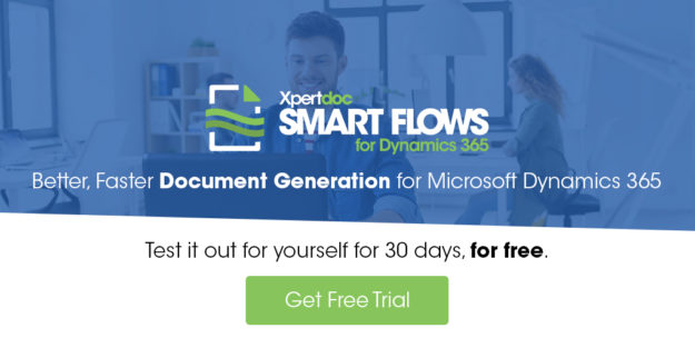 Free trial of Xpertdoc Samrt Flows