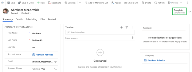 Track completeness of Dynamics 365 CRM records with User Adoption Monitor