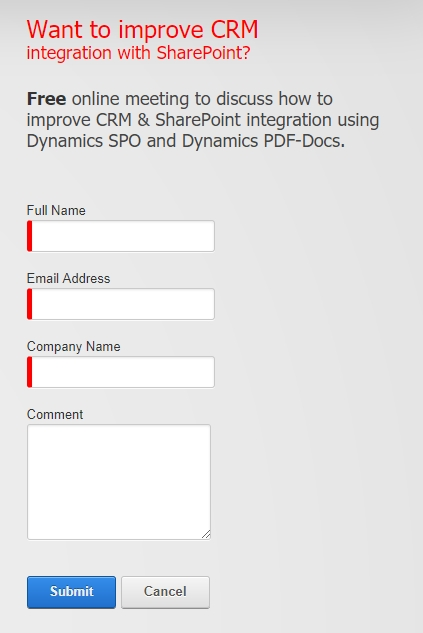 Untitled 1 Want to improve CRM integration with SharePoint?