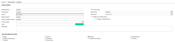 Virtual Entities OData Dynamics 365 v. 9 New Functionality – Virtual Entities