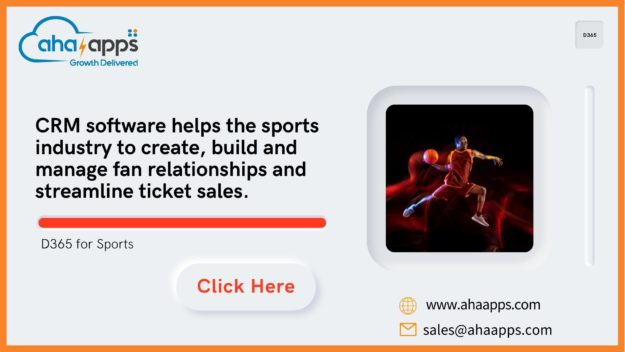 Why is Microsoft Dynamics CRM software important for the sports industry? - AhaApps