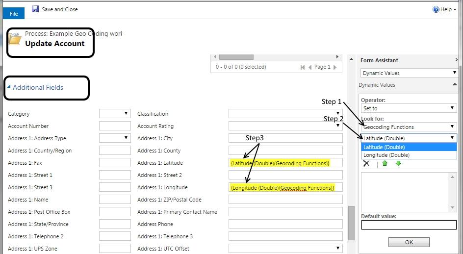 Workflow Geocoding 2