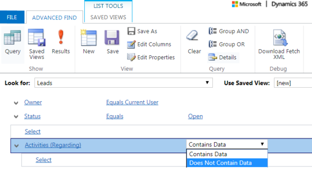 Improved D365 Advanced Find for Related Entities - CRM