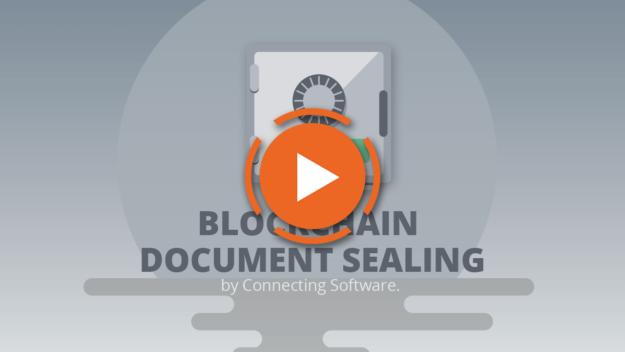 Blockchain document sealing video - CB Digital Seal