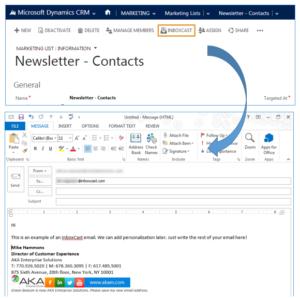 blog microsoft dynamics crm social webinar 07 inbox 300x298 7 Email and Social Tools for B2B Sales and Marketing Tools in Microsoft Dynamics CRM
