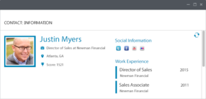 blog microsoft dynamics crm social webinar 08 clickdimensions profile 300x145 7 Email and Social Tools for B2B Sales and Marketing Tools in Microsoft Dynamics CRM