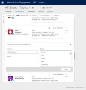 blog microsoft dynamics crm social webinar 11 microsoft social engagement search 768x807 286x300 7 Email and Social Tools for B2B Sales and Marketing Tools in Microsoft Dynamics CRM
