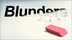 Erasing Blunder in CRM
