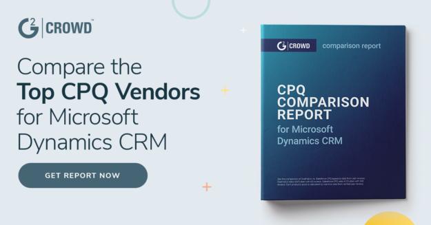 compare top cpq vendors for microsoft dynamics crm