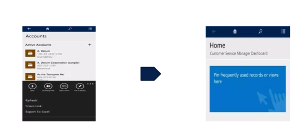 Navigation Tips in Microsoft Dynamics 365 Mobile Application - CRM