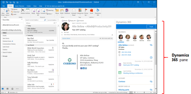 Top 10 Reasons To Make The Switch To The Dynamics 365 Outlook App