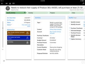 Microsoft Dynamics 365 Mobile Feature Details