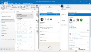 Microsoft Dynamics 365 Outlook Client