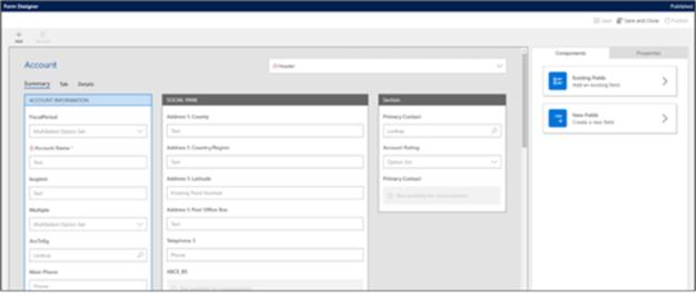 form designer sales 625x266 New Enhancements Coming to Dynamics 365