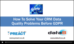 How to Solve GDPR Data Quality Problems