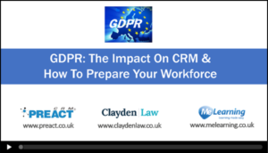 GDPR & How to Prepare