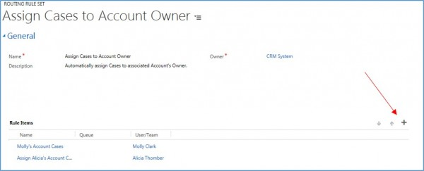how to create routing sets and routing rules in microsoft dynamics crm 5
