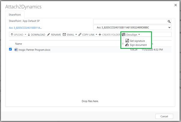 Seamless document management
