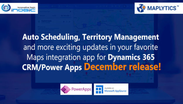 Maplytics December Release