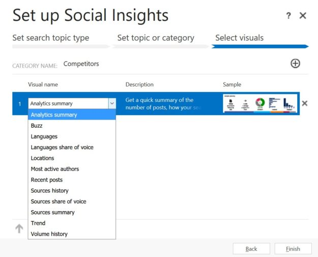 Social Insights Screenshot - Dynamics 365