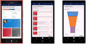 Microsoft Dynamics CRM 2015 Update 1 Mobile Interface