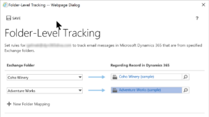sarah 3 Folder Tracking  300x169 How to Track Emails Like a Pro with Dynamics 365