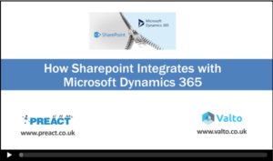 Sharepoint integration with Dynamics 365