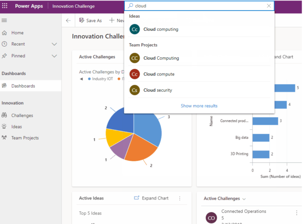 New Search Experience | Dynamics 365 |enCloud9