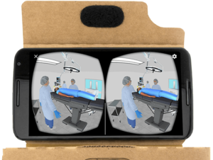 vr phone 300x226 How Effective is Virtual Reality at Trade Shows?