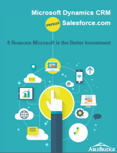 dynamics crm vs salesforce
